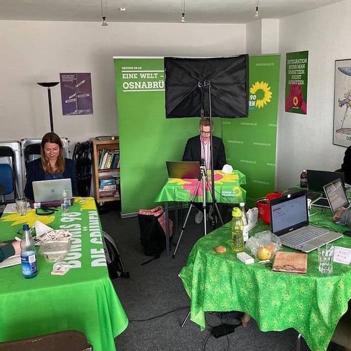 Zeitenwende der Grünen im Kreisverband Osnabrück-Land eingeleitet